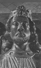 Effigy of King John from tomb