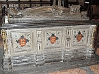 King John's tomb in Worcester Cathedral